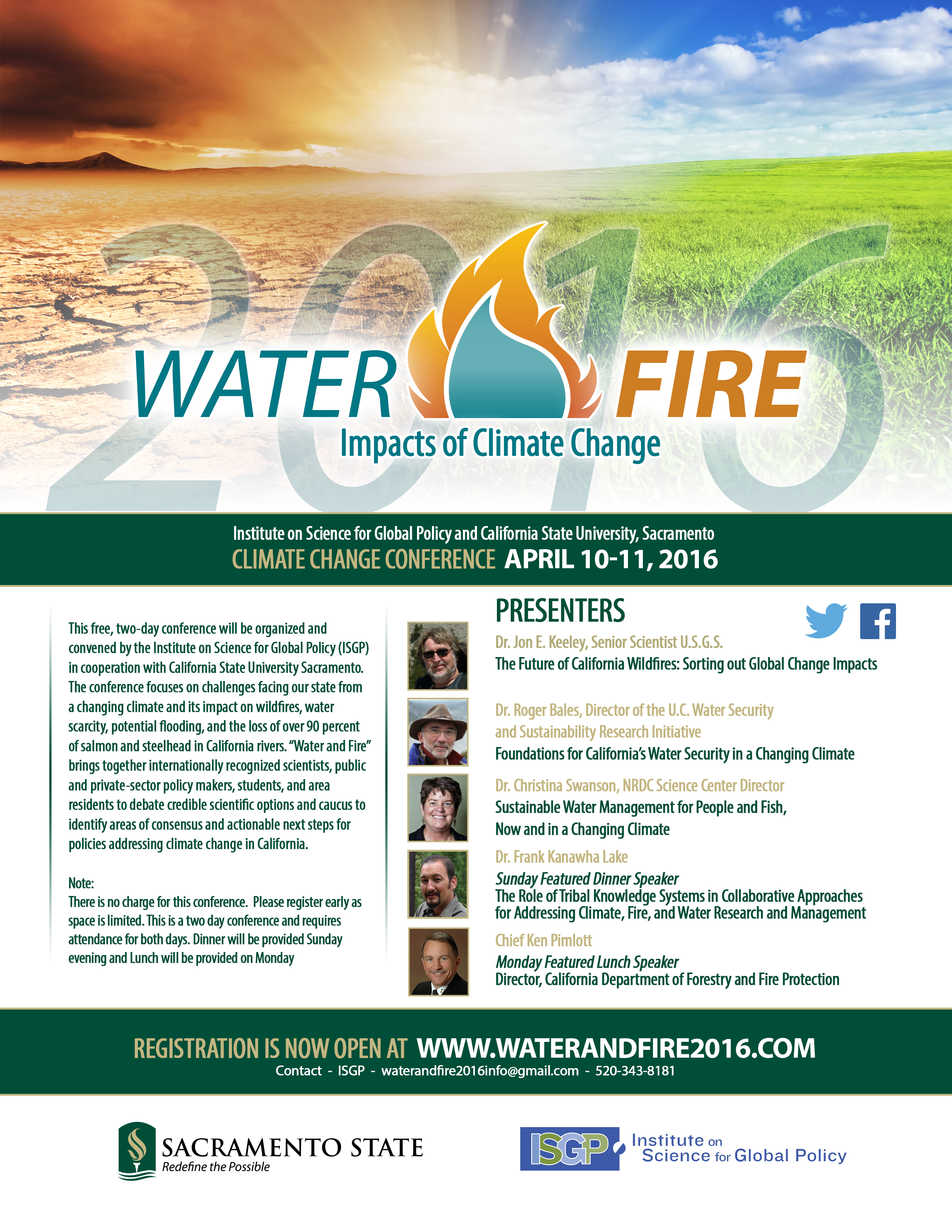 Water and Fire Conference 2016
