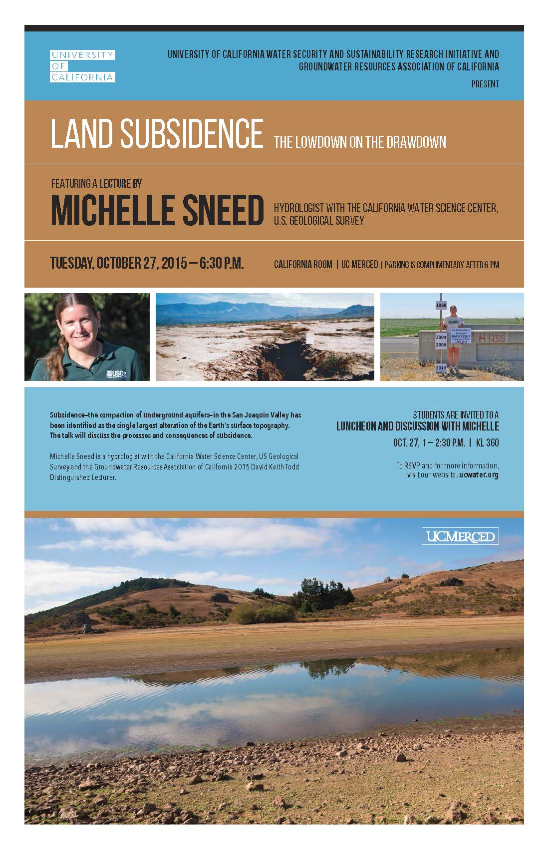 Poster for Michelle Sneed